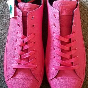 Vivid Hot Pink Converse